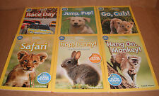 Lot of 6 National Geographic Readers Books Level Pre-Reader Paperback NEW
