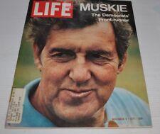 LIFE Magazine November 5 1971 ED MUSKIE cover