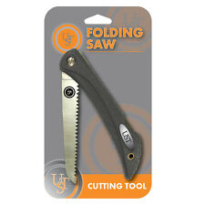 "Folding Saw 5"" Blade Lockback Folds Compact for Easy Carry Hunting Camping UST"