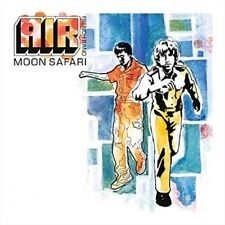 Air Moon Safari LP 10 Track 180gram Vinyl Reissue With Original Artwork Include