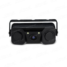 XTRONS 3 in 1 Car LED Rear View Camera Backup Parking Sensor Reversing Camera