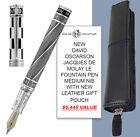 DAVID OSCARSON JACQUES DE MOLAY LE F/PEN MEDIUM & LEATHER POUCH - $5,445 VALUE