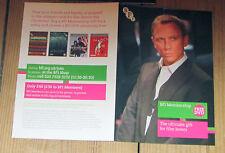 James Bond Daniel Craig Skyfall promotional flyer, British Film Institute, new
