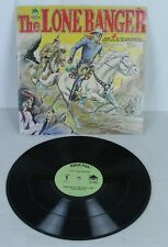The Lone Ranger  4 Exciting Adventure Stories Peter Pan Vinyl LP Record
