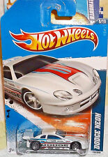 2011 Hot Wheels HW Drag Racers #5-10 White Dodge Neon Diecast 4+ Malaysia