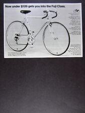 1974 Fuji Tourer 10-Speed Bike Bicycle vintage print Ad