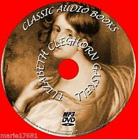 9 MP3 CLASSIC AUDIOBOOKS NOVELS/STORIES  ELIZABETH GASKELL PC-DVD NEW ENGLISH