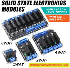 1/2/4 Channel 5v OMRON SSR G3MB-202P Solid State Relay Module For Arduino T