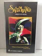 SALTIMBANCO ~ CIRQUE DU SOLEIL ~ AS NEW VHS VIDEO