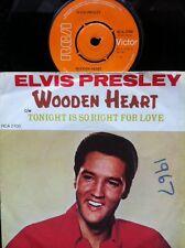 "Elvis Presley - Wooden Heart b/w Tonight Is So Right For Love 7"" Vinyl RCA 2700"