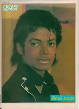 MICHAEL JACKSON black jacket magazine PHOTO/Poster/clipping 11x8 inches