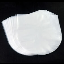 NEW 50pcs Clear Plastic 12'' LP LD Inner Sleeves Cover Vinyl Record 30.8X30.6cm