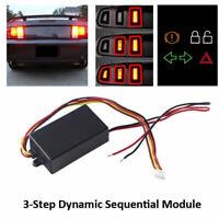 2 Stücke Auto Rote LED Sequentielle Dynamische Rücklicht Blinker Blink Modul Box