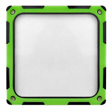 Silverstone SST-FF124BV-E (Black/Green) 120mm ABS Silicon Magnet Fan Filter
