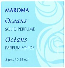 Maroma Solid Perfume, Oceans, 0.28 Ounce