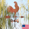Traditional Classic Barn Rooster Weathervane Roof Mount Chicken Weather Vane
