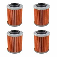 4 Oil Filter Filters for Can-Am DS650 Renegade 500 570 800 850 1000 All Models