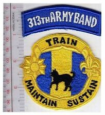 Military Band US Army 313th Army Band 87th Division Birmingham, Alabama Reserve