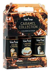 Jordan's Skinny Syrups Caramel Collection Syrup Trio