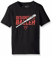Under Armour 1298882 Boys' Designated Baller Short Sleeve Tee Black ( Youth XS )