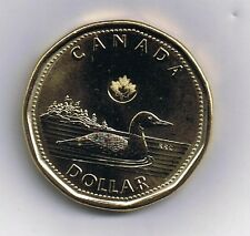 2013 CANADA NEW STYLE  $1 LOONIE COIN WITH LASER MARKINGS UNCIRCULATED CANADIAN