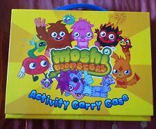 Moshi monsters activity case, 5 activity books. Bnib.
