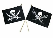 """12x18 12""""x18"""" Wholesale Combo Pirate Brethren Coast & Calico Stick Flag"""