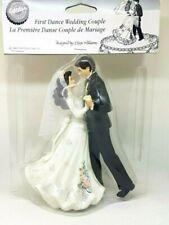 NIP Wilton First Dance Dancing Wedding Couple Cake Topper Bridal
