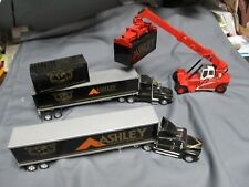 Ashley Furniture Freightliner, IHC, Container, Promotional Set.  Diecast.