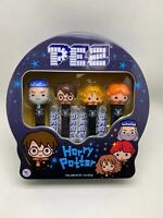NEW 2020 HARRY POTTER LIMITED EDITION TIN PEZ SET OF 4! - W/ EXCLUSIVE DUM