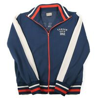 JACK & JONES Jacket | Men's M | Bomber Zip Retro Vintage Varsity Tracksuit