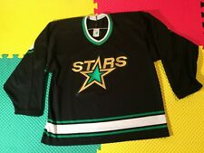 Vintage CCM Maska Dallas Stars Sewn Hockey Jersey Men's Size L Made in USA