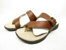 Eastland Women's Tahiti ll Thong Sandals Brown Size 7M