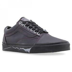 Vans x Harry Potter Deathly Hallows US Kids Size 1.0 Old Skool Elastic Shoes New