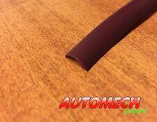 Super Quality Caravan/Motorhome Awning Rail Plastic Insert/Trim (BURGUNDY)