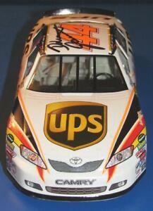 Signed Nascar 1:24 Scale 2007 Dale Jarrett UPS Toyota Camry #44 Car
