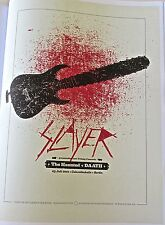 SLAYER BAND Poster Reprint for Concert in Berlin Germany  14x10