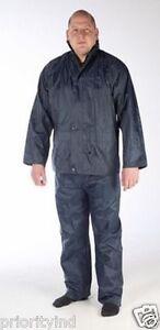 Navy Waterproof Wet Suit 2 Piece