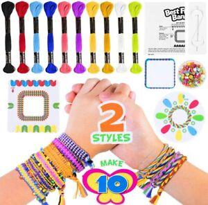 New DIY Friendship Bracele Friendship Bracelet Making Kit Woven Colorful Ropes