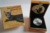 Niue 1 Dollar 2014 Katzen Javanese Silber