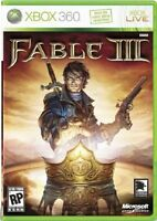 FABLE 3 (Xbox 360) - MINT - Super FAST First Class Delivery FREE