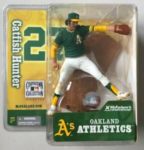 Catfish Hunter Oakland A's McFarlane Figure Cooperstown Collection MLB Athletics