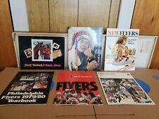 Lot of  6 Philadelphia Flyers Yearbook Family Album Vintage 1976 Hockey