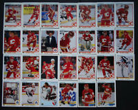 1990-91 Upper Deck UD Calgary Flames Team Set of 27 Hockey Cards