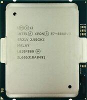 INTEL XEON 18 CORE E7-8890 V3 PROCESSOR 2.5GHZ 45MB SR21V CPU