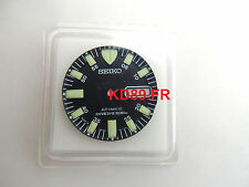 Genuine BLACK Dial SEIKO 7S26-0350 SKX781 SKX779 Black Monster Automatic Diver's