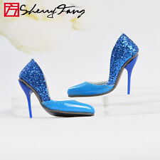 "Sherry Blue Stiletto Heel shoes for 16"" Tonner Tyler Wentworth  Doll 47tns7"