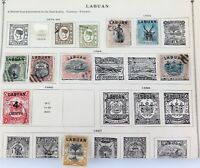.JOB LOT !! LABUAN 1879 - 1903 20 x USED HINGED STAMPS. NICE LOT !!