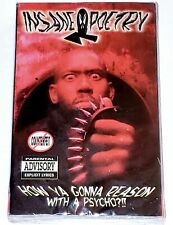 Insane Poetry - How Ya Gonna Reason With A Psycho?!! (Cassette Tape, Single)