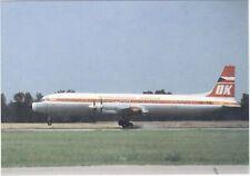 CSA        -             Ilyushin  IL- 18-E    Just landing